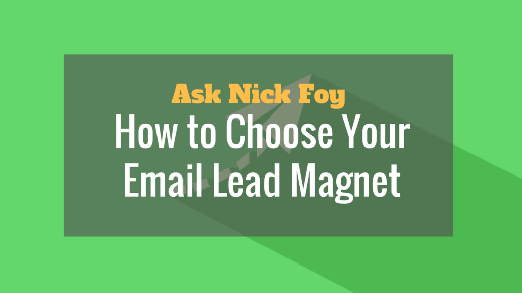 email-lead-magnet
