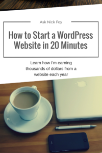 how-to-start-a-website-with-wordpress-in-20-minutes