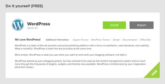 bluehost-wordpress-install
