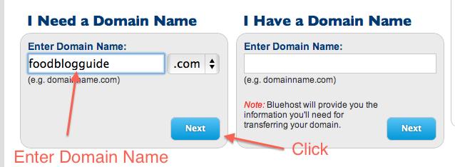 start a wordpress website on bluehost