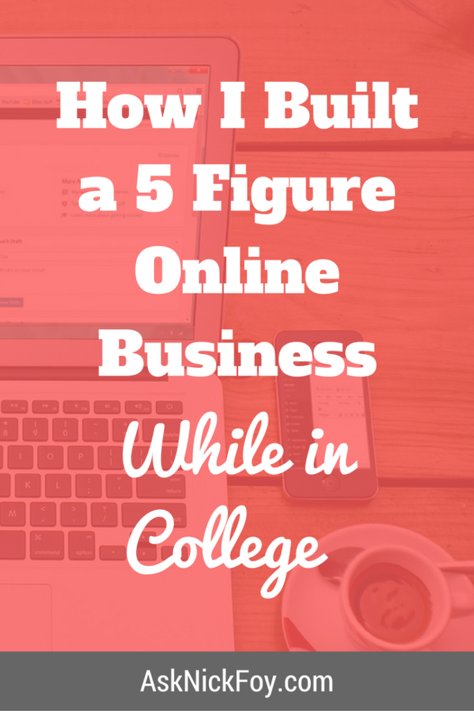 how i built a 5 figure online business