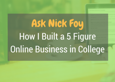 how i built a 5 figure online business in college