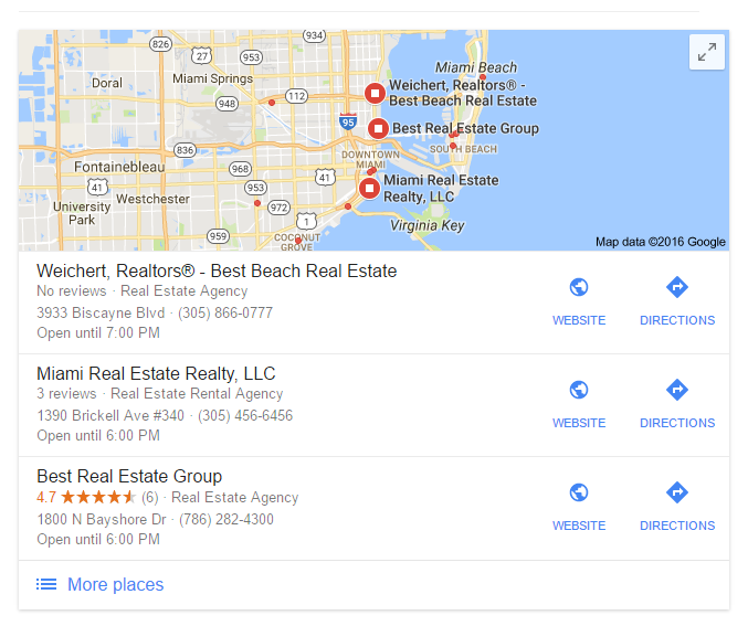 real-estate-seo-google-maps