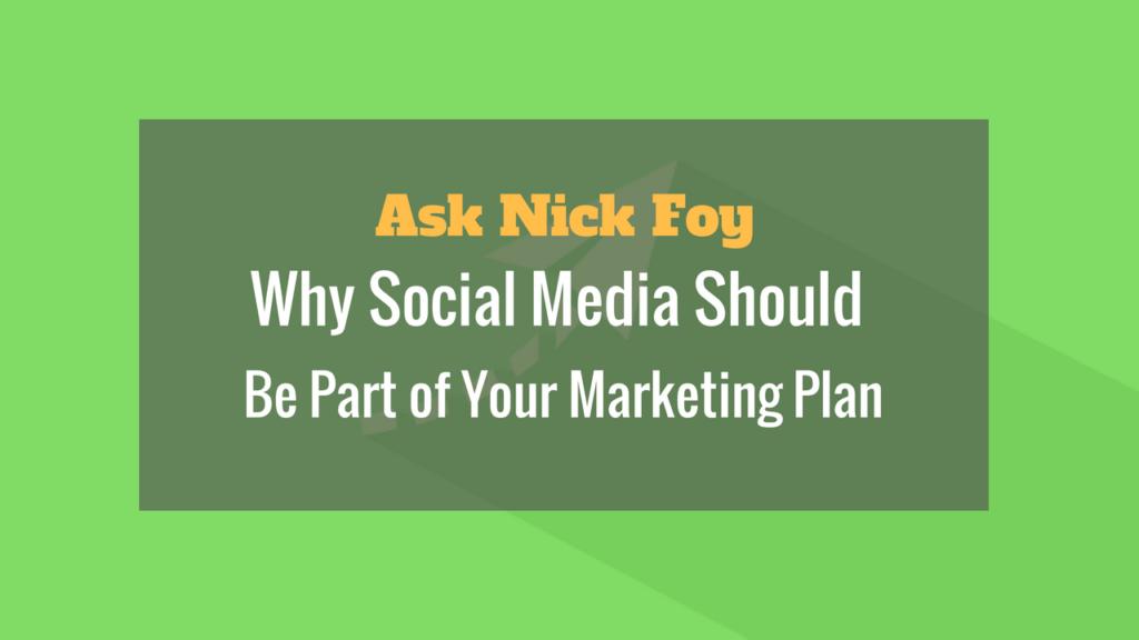 social media business marketing plan