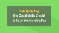 social media business marketing plan