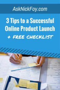 successful course launch tips for bloggers