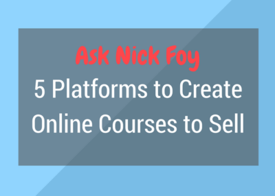 5 Platforms to Create Online Courses to Sell