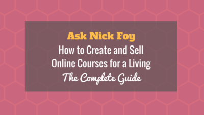 how to create online courses to sell