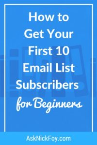 email list growth strategies