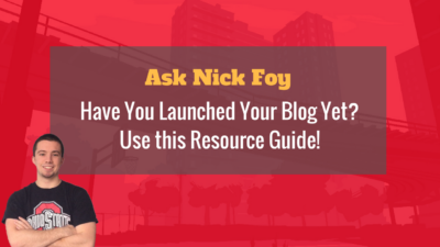 launch a blog tutorial resources