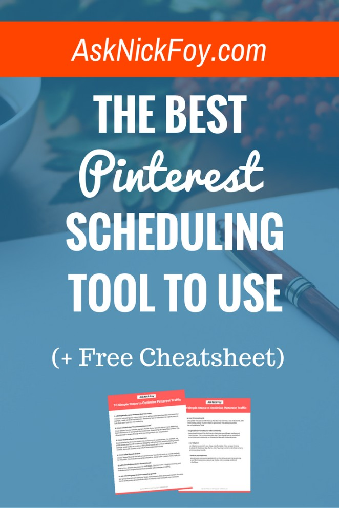 best pinterest scheduling tool to schedule pins increase followers