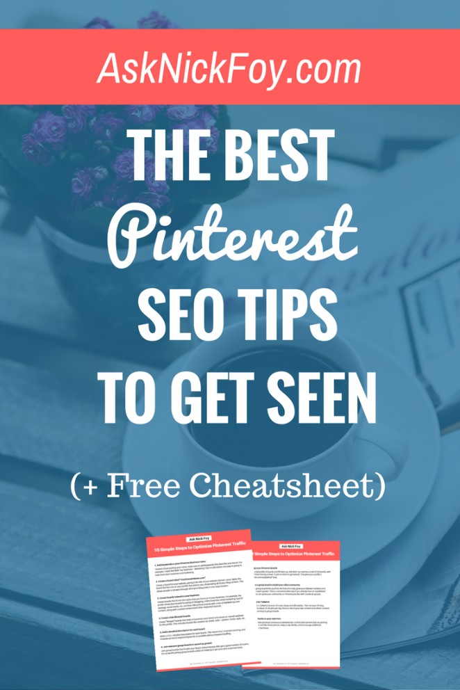 best pinterest seo tips to get more followers and repins