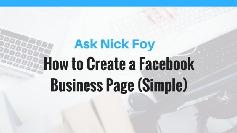 facebook business page tutorial
