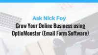 optinmonster email marketing form software