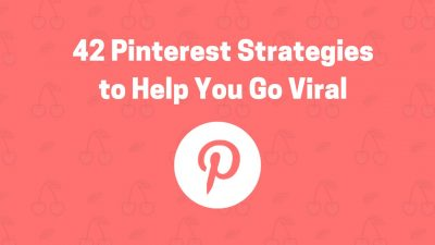 42 pinterest strategies go viral on social media