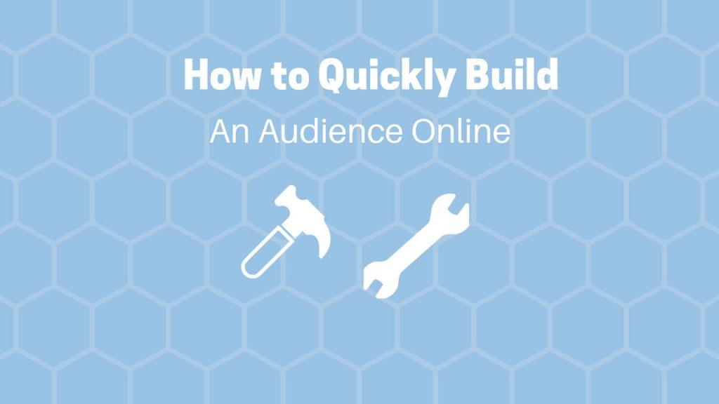 how to build an audience online