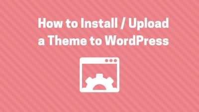 install theme wordpress