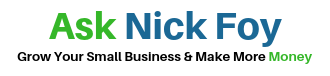 Ask Nick Foy Logo