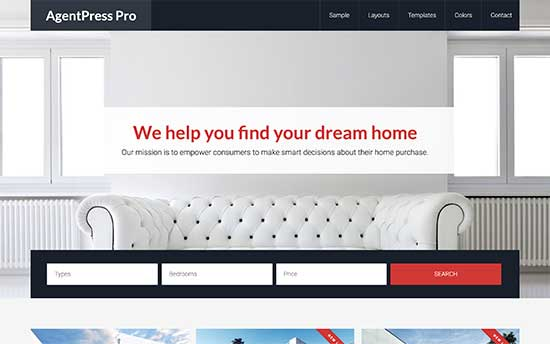 agentpress wordpress theme