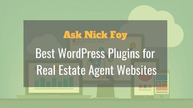 best wordpress plugins for real estate agents