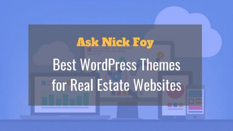 best wordpress themes real estate