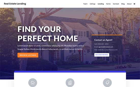 divi-realestate wordpress idx