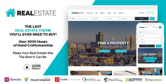 real estate 7 wordpreess theme