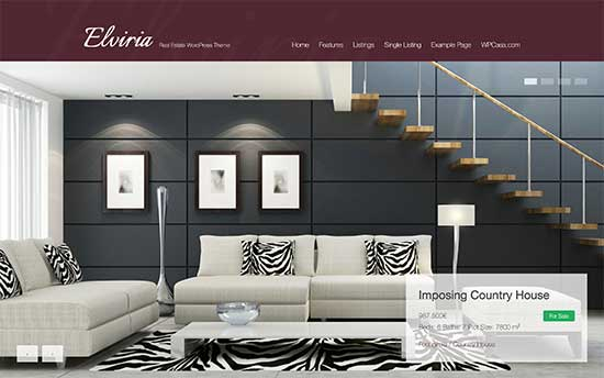 wp casa elviria wordpress theme