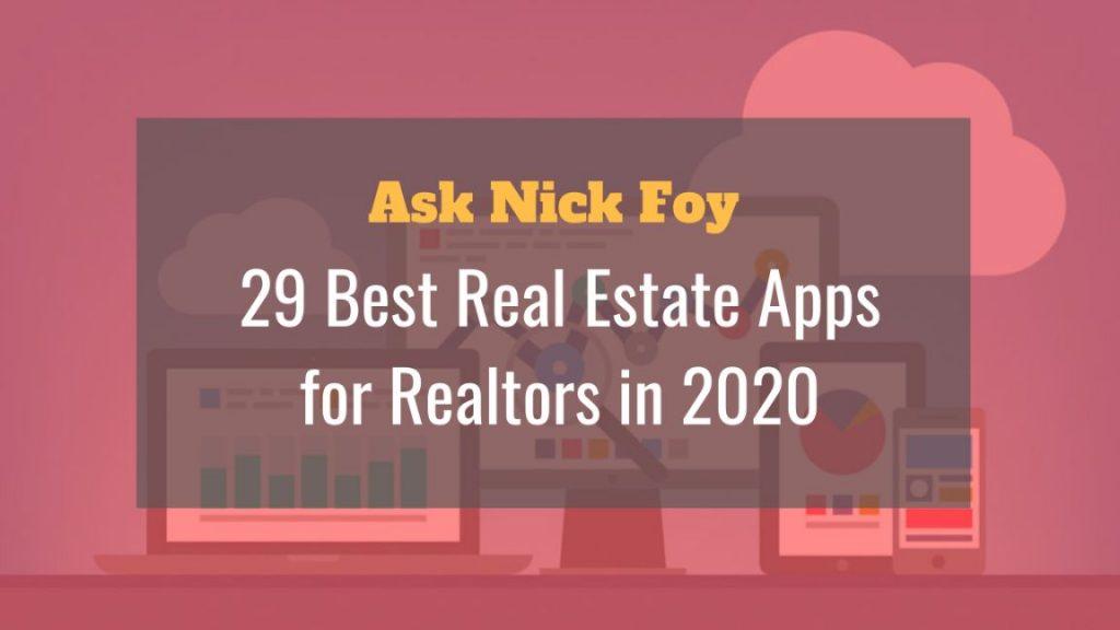 29 best real estate apps