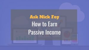 how to earn passive income