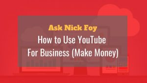 how to use youtube to make money for business