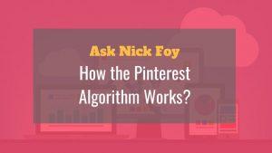 pinterest algorithm