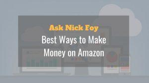 ways to make money on amazon