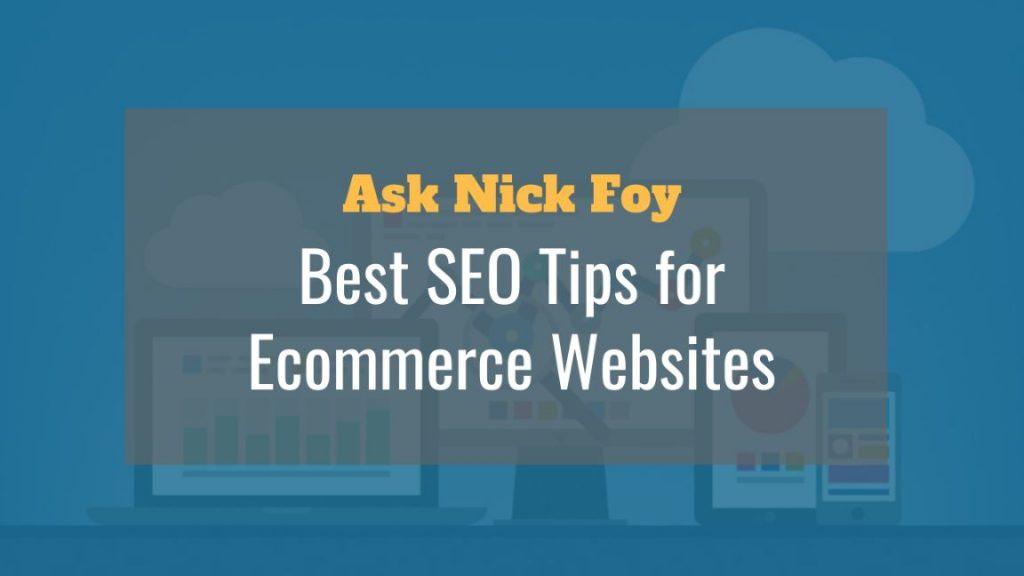 best seo tips for ecommerce websites