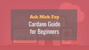 cardano for beginners