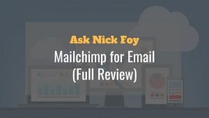 mailchimp email review